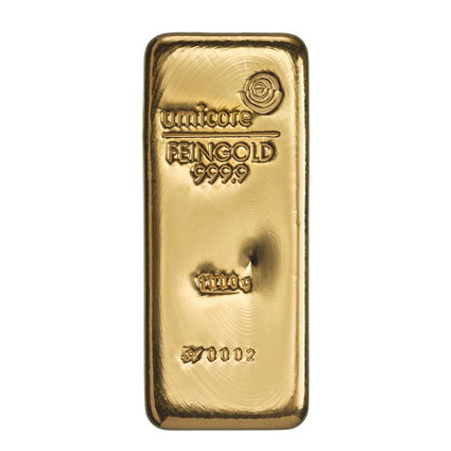 1000 gram umicore goud baar