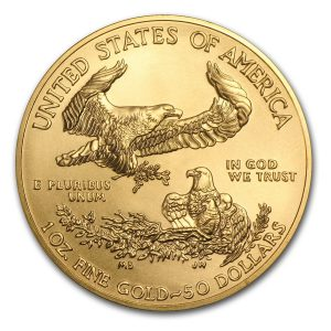 American Eagle 1 troy ounce gouden munt 2019