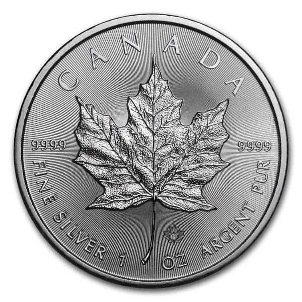 Maple Leaf 1 troy ounce zilveren munt 2019