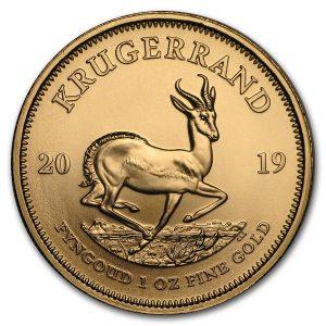 Krugerrand 1 troy ounce gouden munt 2019