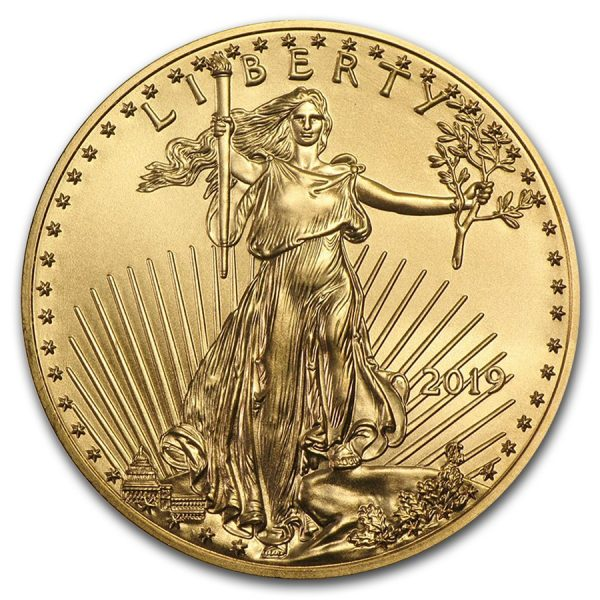 American Eagle 1 troy ounce gouden munt 2019
