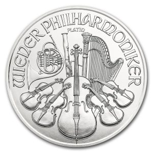 Philharmoniker 1 troy ounce platina munt 2018