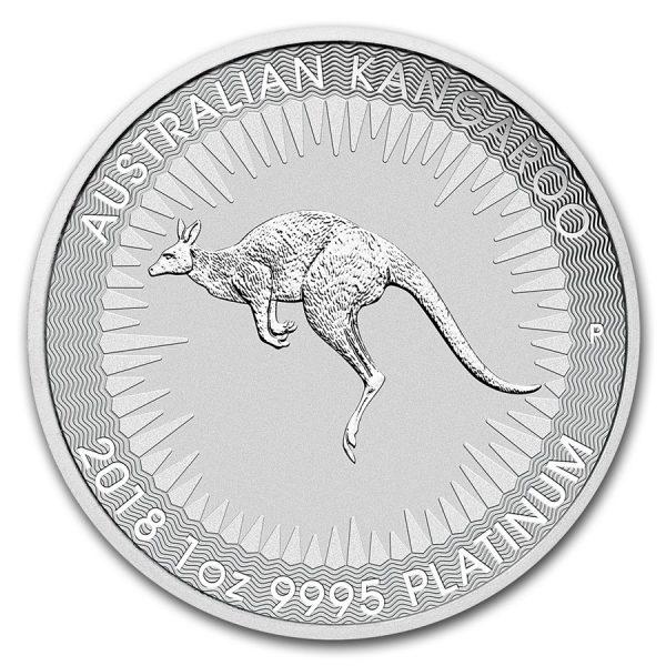 Kangaroo 1 troy ounce platina munt 2018