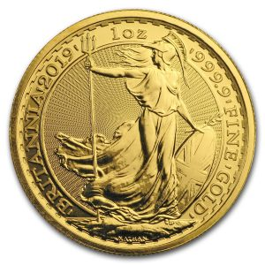 Britannia 1 troy ounce gouden munt 2019