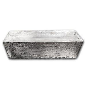 BTW-vrij zilver: Asahi 1000 troy ounce zilverbaar