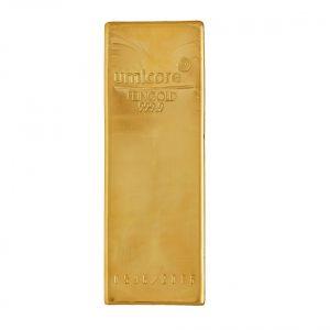 Umicore 12.5 (400 oz) gram goudbaar
