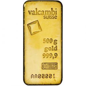 Valcambi 500 gram gold buy kopen